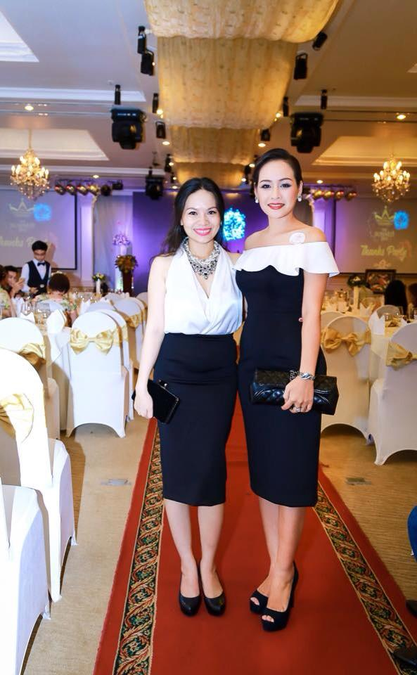 Sang trọng, phong cách khi đi dự tiệc cùng Á hoàng 2 - Nguyễn Thị Thu Hương - Nữ hoàng doanh nhân 2015
