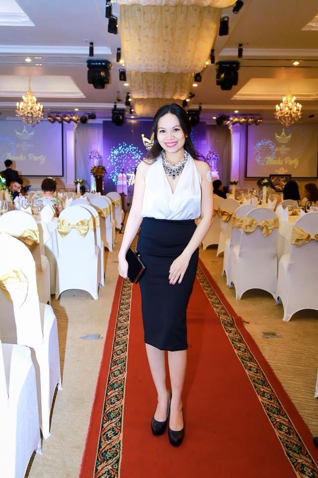 Tham dự Thanks Party Nữ Hoàng Doanh Nhân 2015