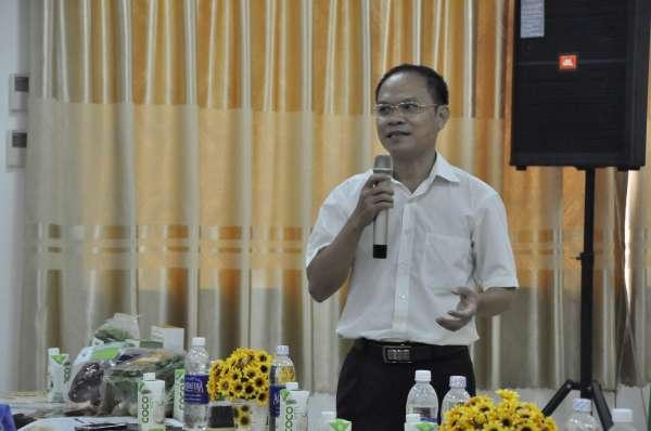 Ông Lê Thành, Chủ tịch Hội đồng quản trị Công ty Rau sạch Organic