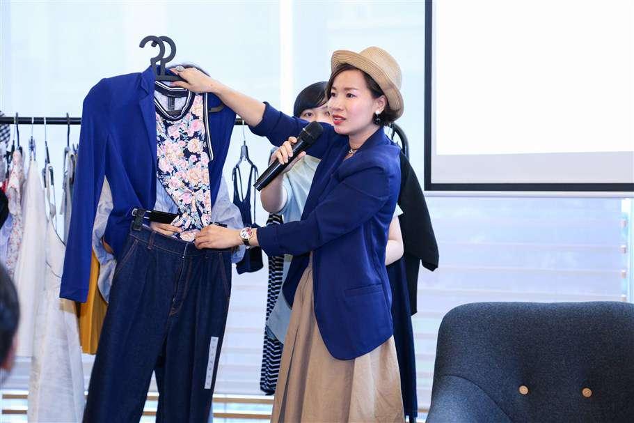 Chuyên gia Thảo Jaly cũng chia sẻ cách phối đồ với chị em phụ nữ
