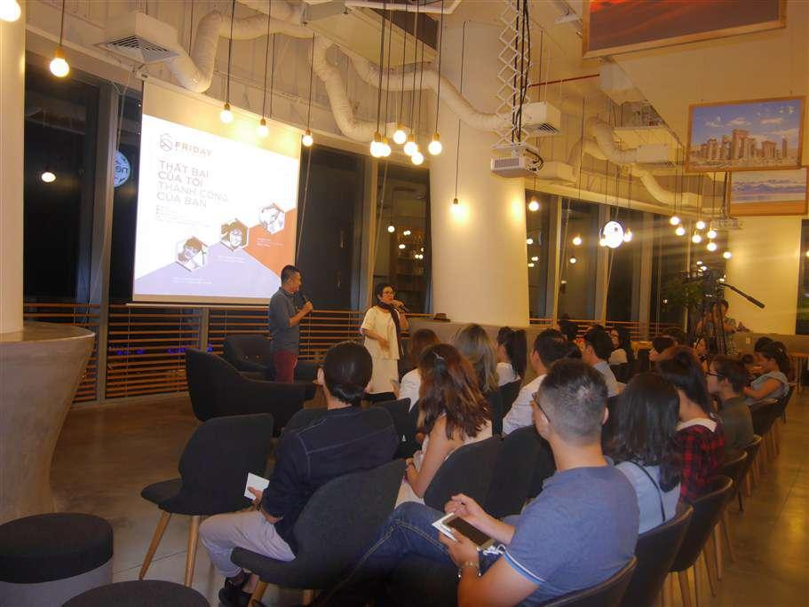 Quang cảnh buổi talk show diễn ra tại nest by AIA Tp.HCM