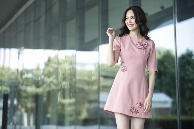 Vóc dáng tuổi 42 của Hoa hậu Thu Thủy