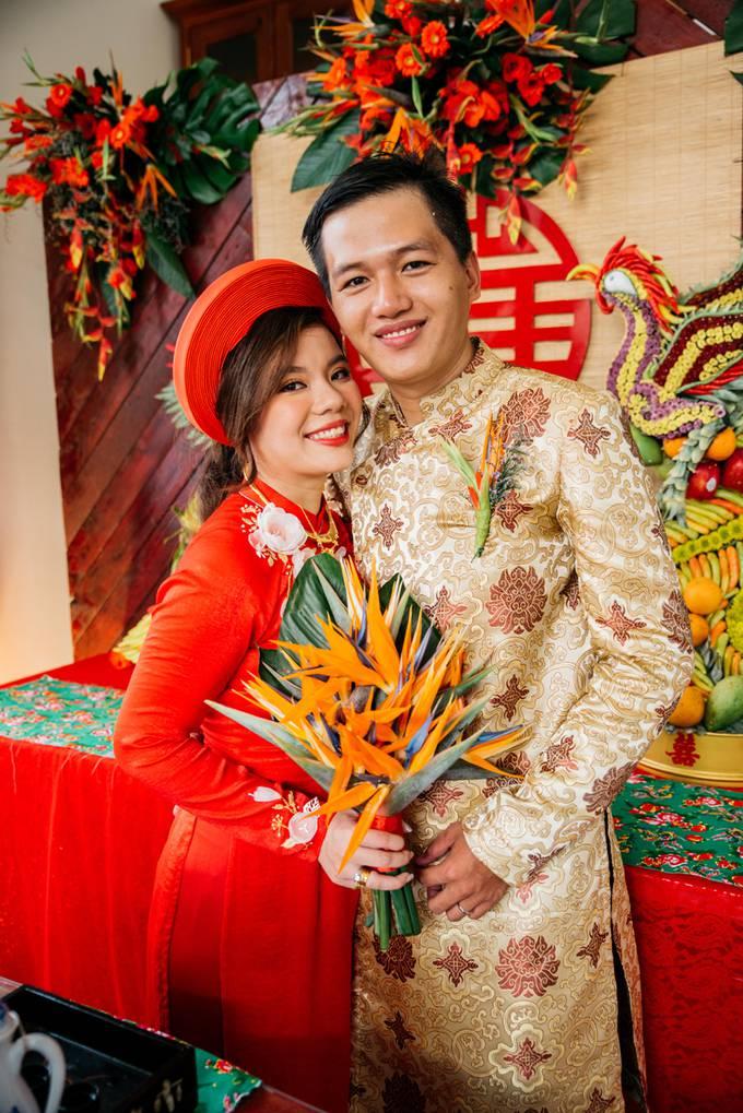Đám cưới miệt vườn mang đậm phong vị Tết cổ truyền