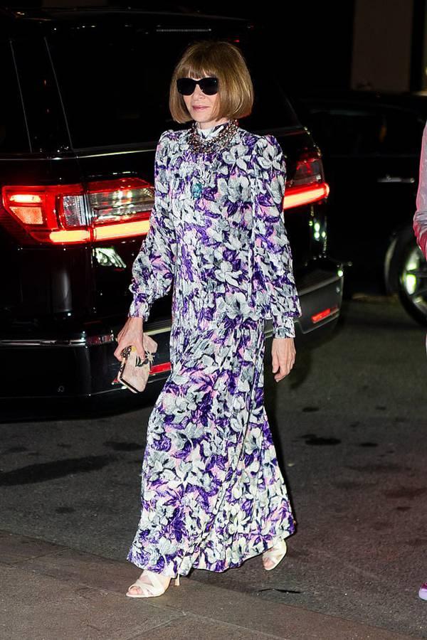 Tổng biên tập tạp chí Vogue, Anna Wintour.