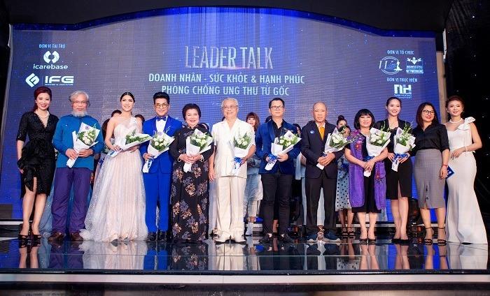 Nghệ sĩ Việt chung tay cùng IcareBase trong Chương trình Phòng chống Ung thư từ Gốc