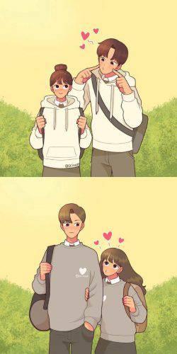 Mặc áo đôi cũng là một hành động làm tăng tình cảm cho cặp đôi đấy.