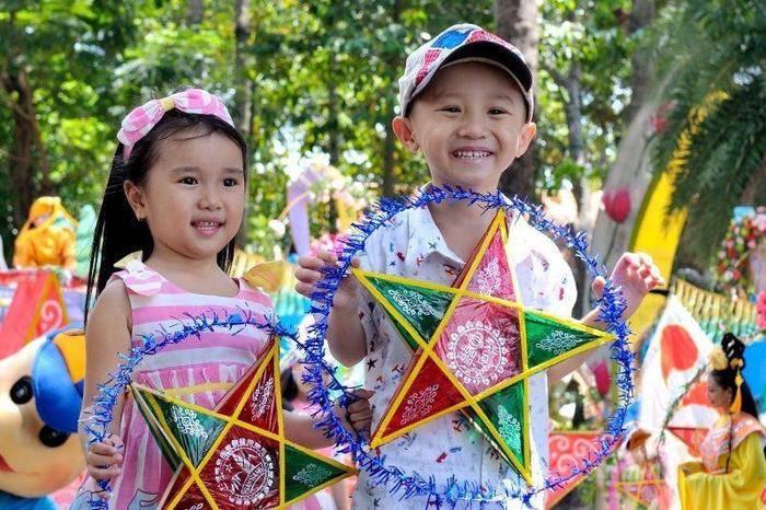 Tại đây có nhiều hoạt động vui chơi đặc sắc dành cho các em thiếu nhi và phụ huynh trong ngày Rằm tháng Tám. (Ảnh: Internet)