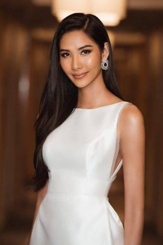 Á hậu Hoàng Thùy đẹp cuốn hút với làn da nâu nóng bỏng, nụ cười rạng rỡ chuẩn Miss Universe ảnh 7