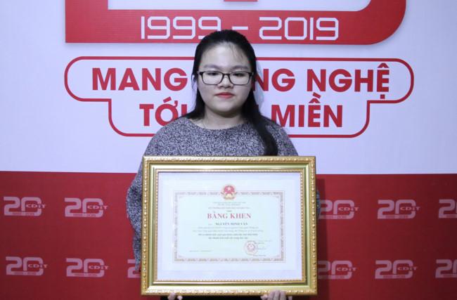 Nguyễn Minh Vân - sinh viên Học viện Công nghệ Bưu chính viễn thông.