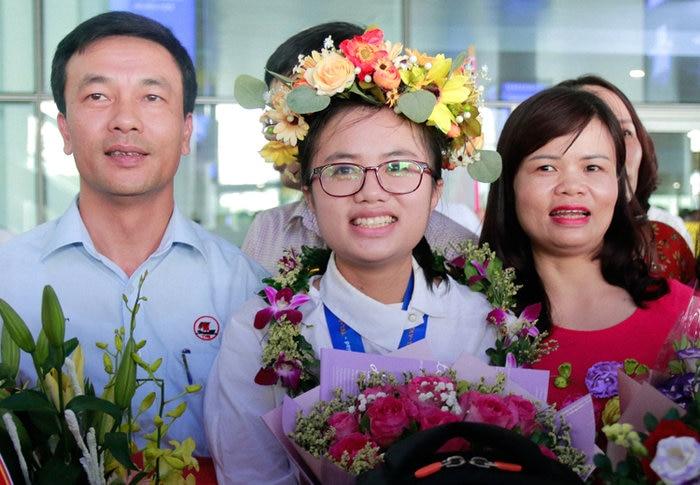 Đối với Linh, mẹ chính là nguồn động lực của cô trong suốt chặng hành trình đã qua