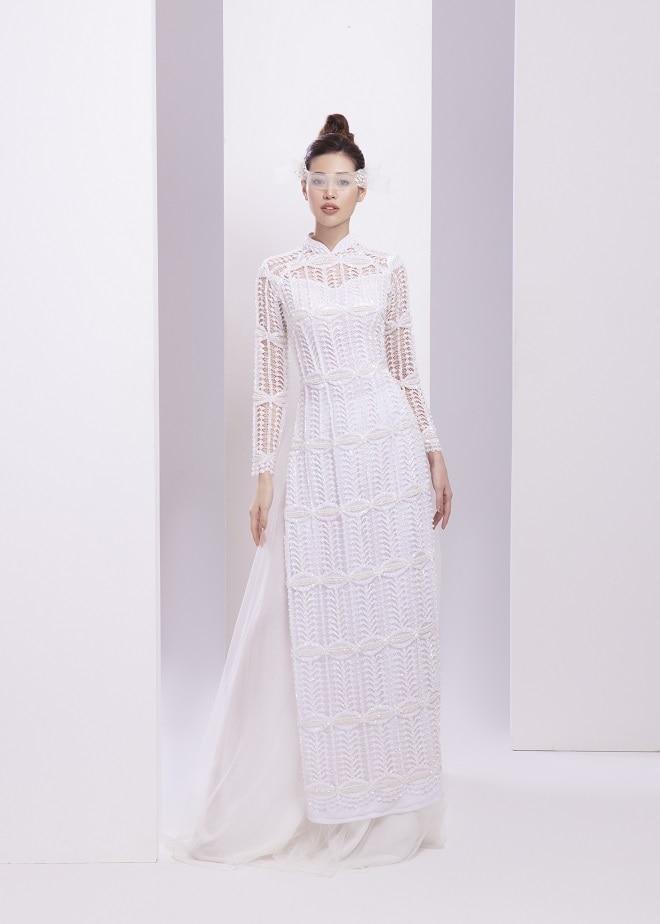 Khánh Vân tung ảnh áo dài trước khi thi Miss Universe, xứng danh hoa hậu mặc áo dài đẹp nhất! ảnh 5