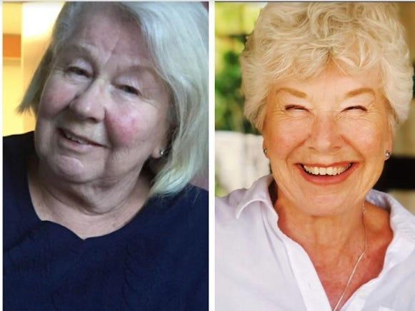Sốc rớt hàm với cụ bà 73 tuổi tập gym giảm 20 kg trong sáu tháng ảnh 2