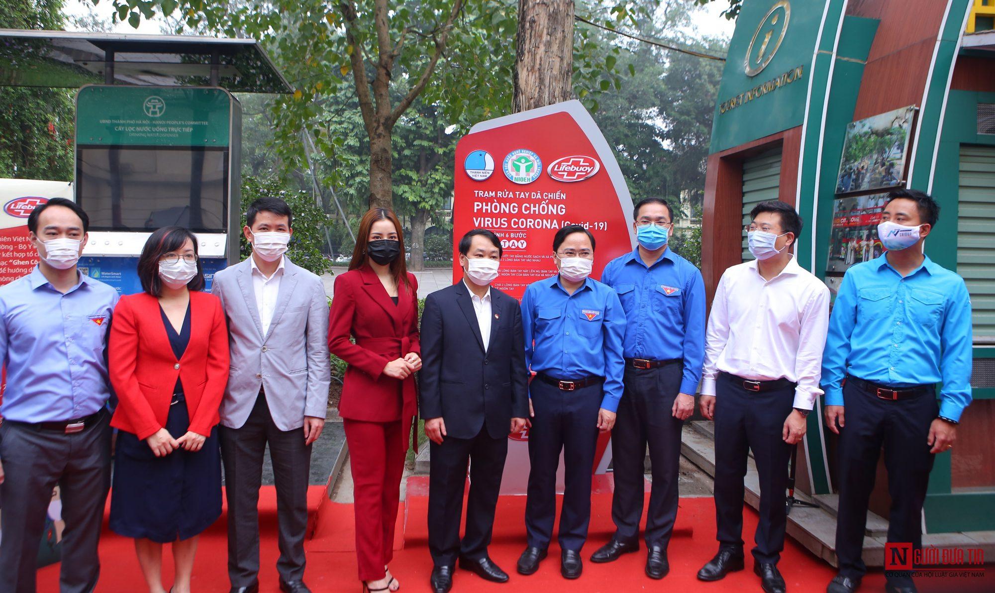 Sức khỏe - Chi Pu làm đại sứ của Quỹ 100 trạm rửa tay dã chiến phòng chống dịch Covid - 19 (Hình 5).