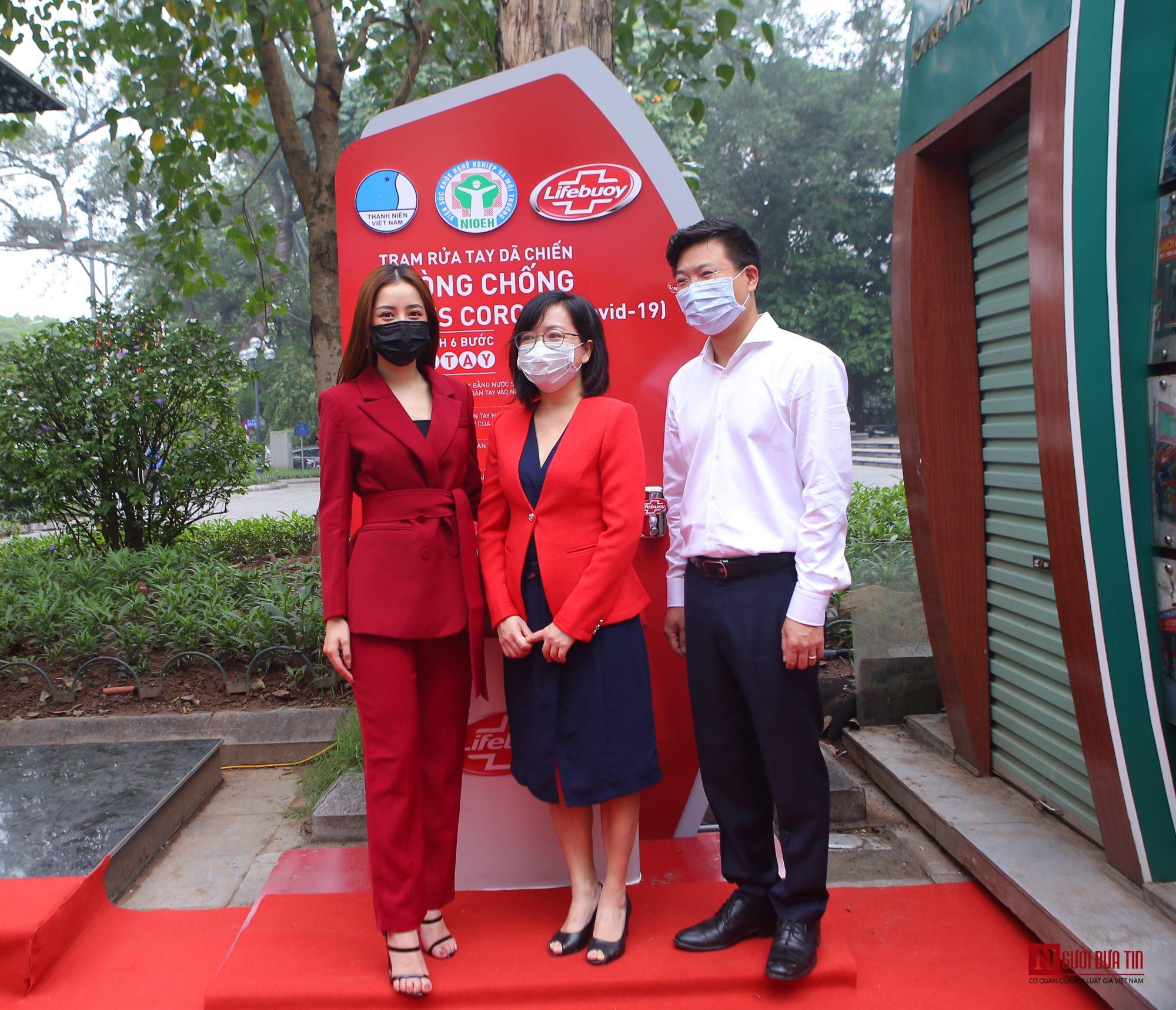 Sức khỏe - Chi Pu làm đại sứ của Quỹ 100 trạm rửa tay dã chiến phòng chống dịch Covid - 19 (Hình 10).