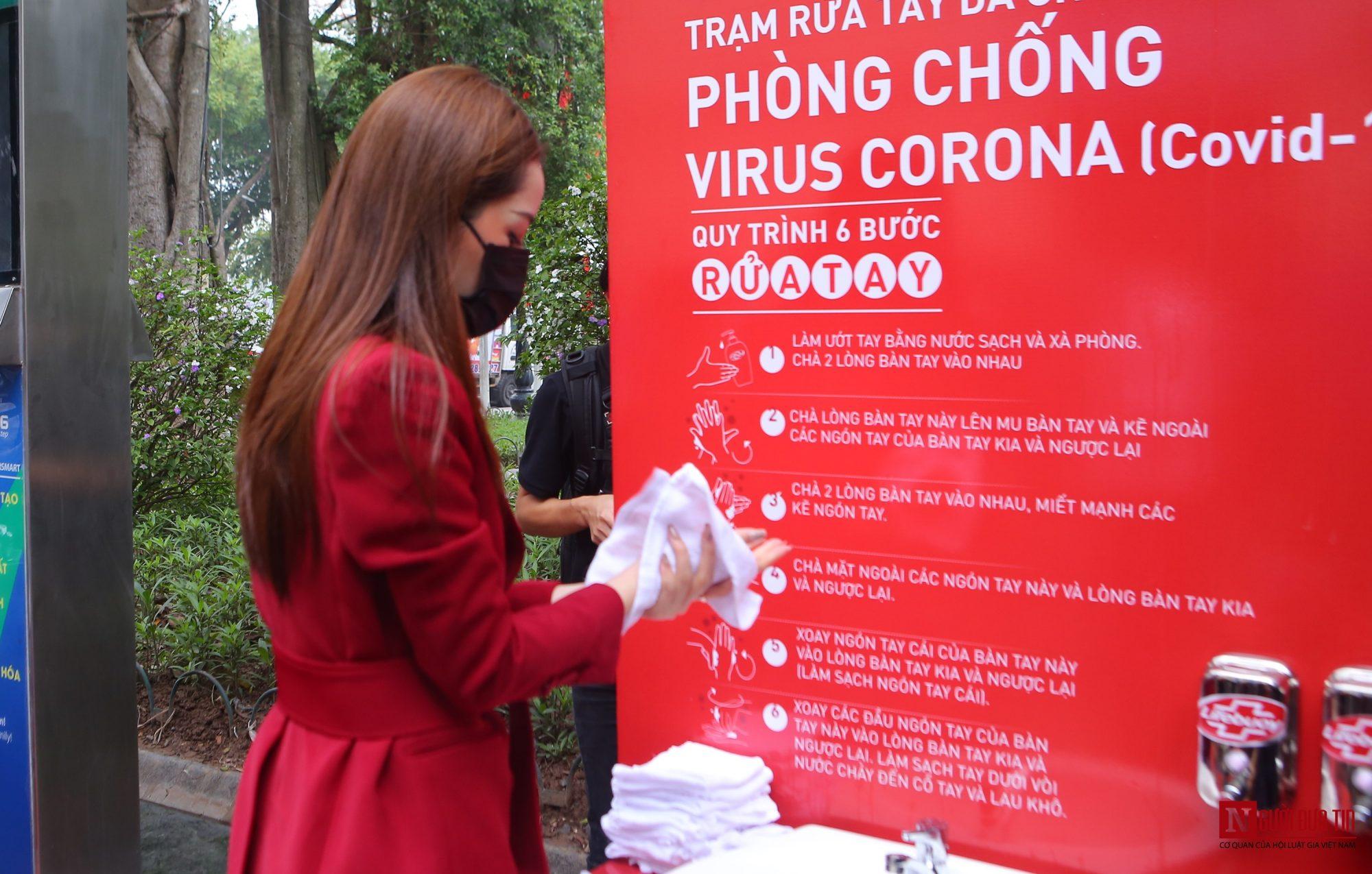 Sức khỏe - Chi Pu làm đại sứ của Quỹ 100 trạm rửa tay dã chiến phòng chống dịch Covid - 19 (Hình 11).
