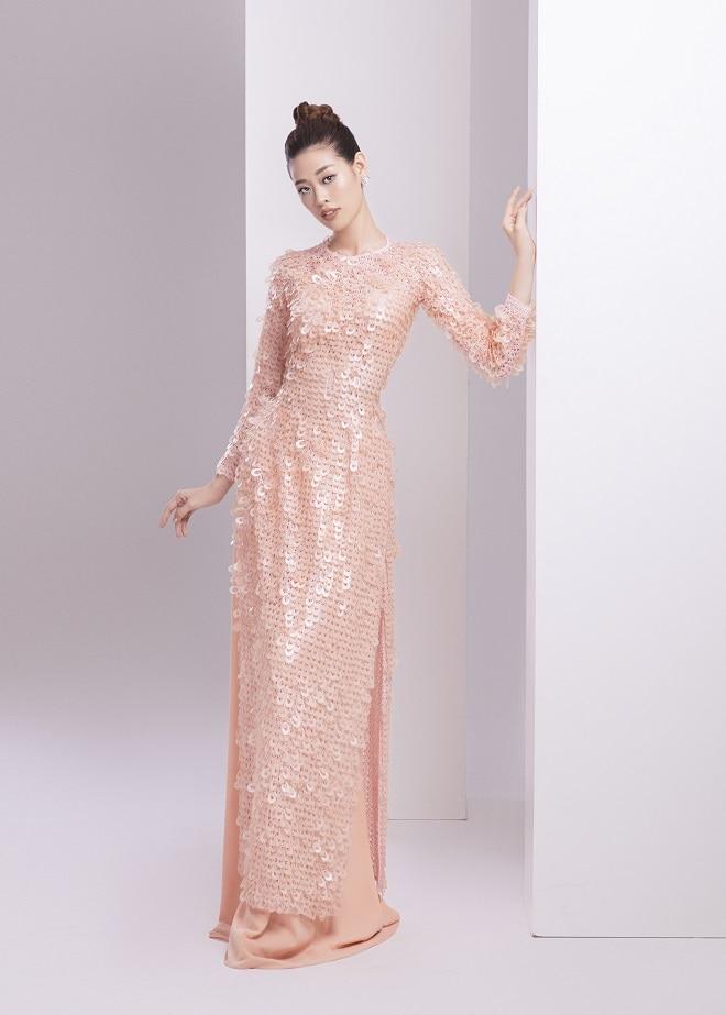 Khánh Vân tung ảnh áo dài trước khi thi Miss Universe, xứng danh hoa hậu mặc áo dài đẹp nhất! ảnh 14