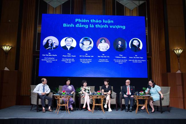 21 lãnh đạo doanh nghiệp tại Việt Nam đã ký tuyên bố ủng hộ nguyên tắc trao quyền cho phụ nữ tại nơi làm việc, trên thị trường và trong cộng đồng - Ảnh 3.
