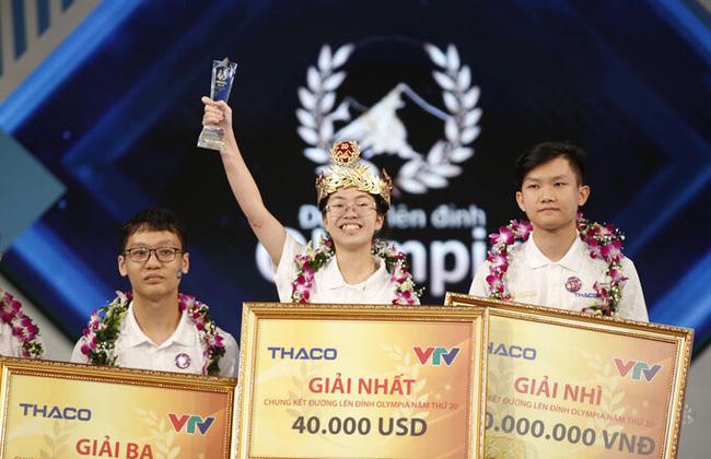 Nguyễn Thị Thu Hằng - thí sinh nữ vô địch Olympia 2020 - Ảnh 2.